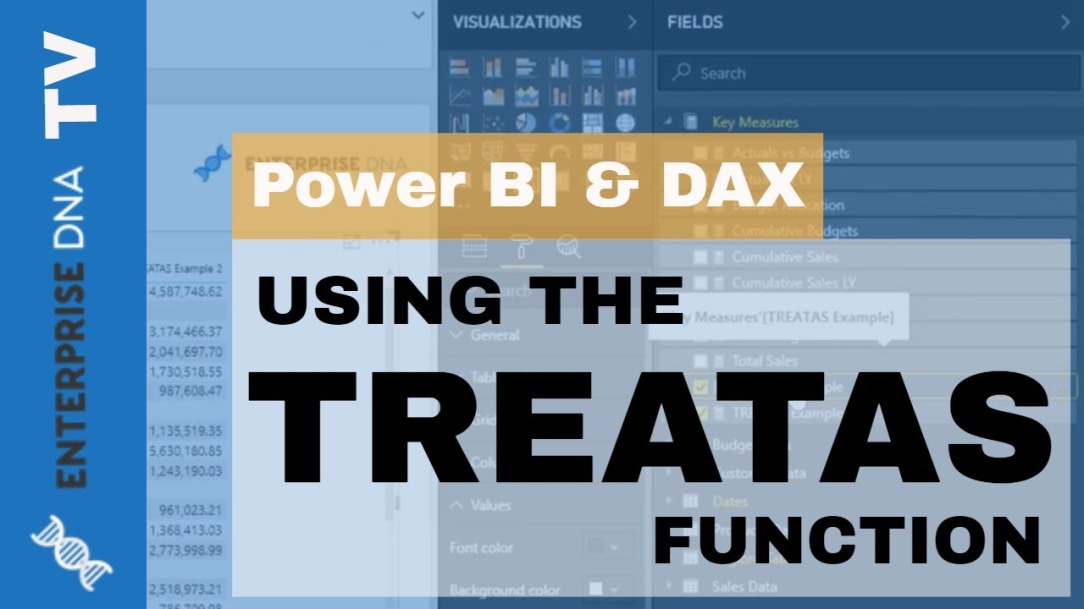 Deep Dive Into The TREATAS Function - Virtual Relationships For Power BI