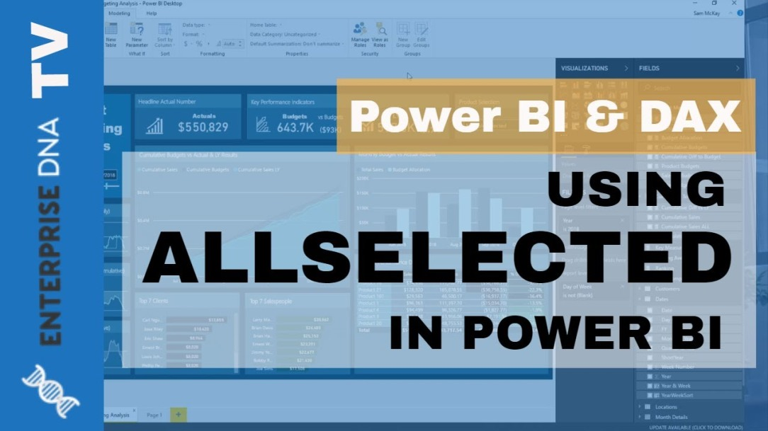 Deep Dive Into ALLSELECTED - DAX Function In Power BI