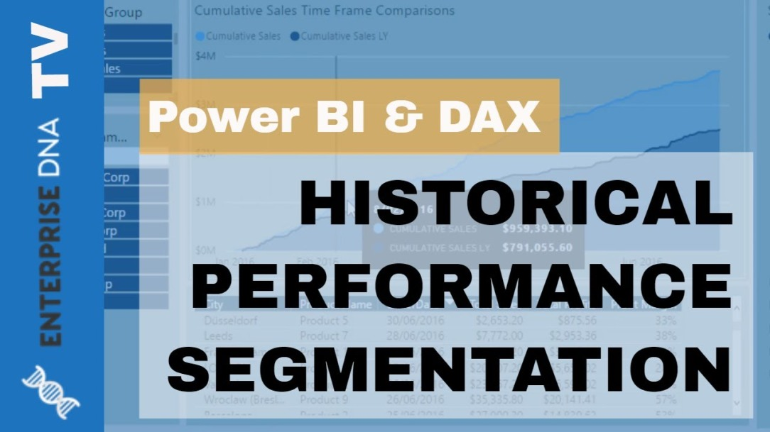 Customer Segmentation Techniques Using The Data Model - Power BI & DAX