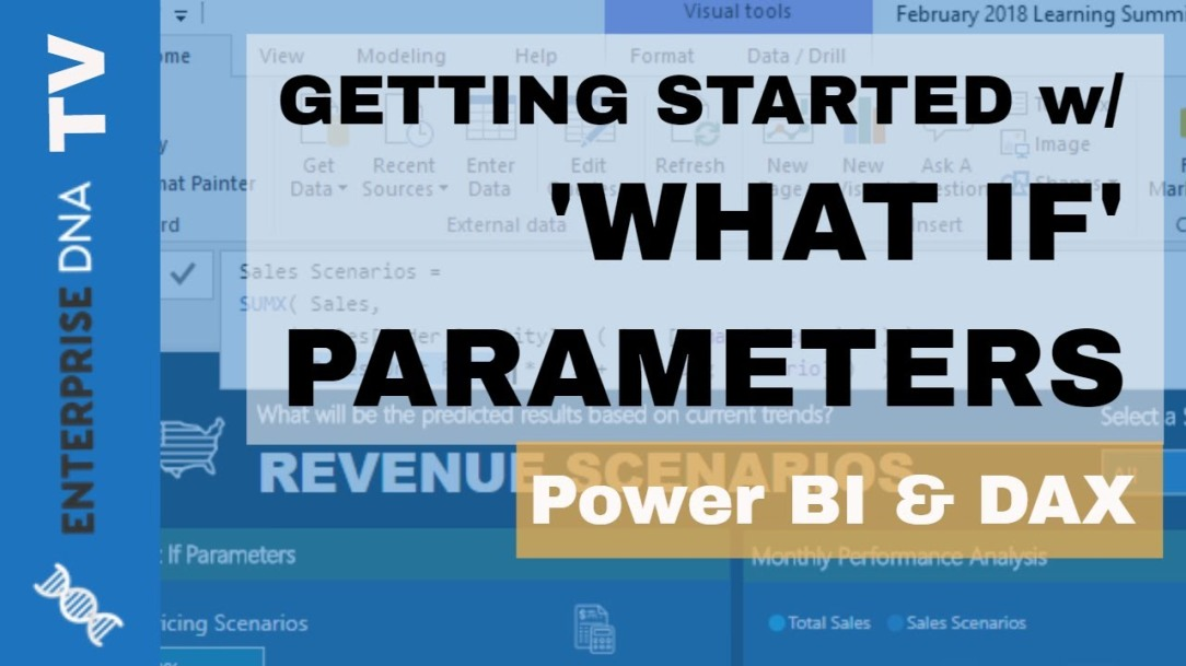 How To Start Using 'What If' Parameters Inside Power BI