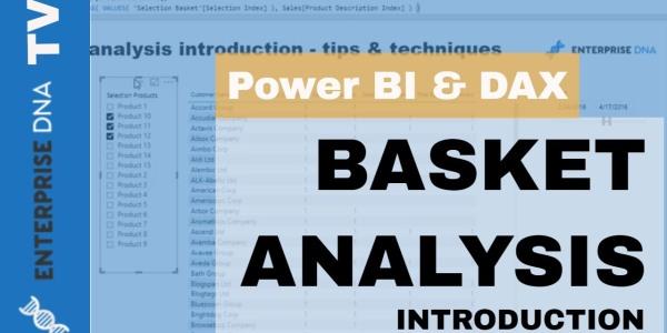 Basket Analysis For Power BI Using DAX