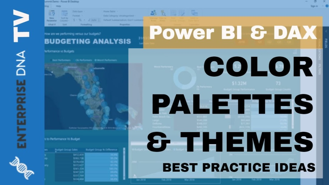 Using Great Color Schemes In Your Power BI Data Visualization