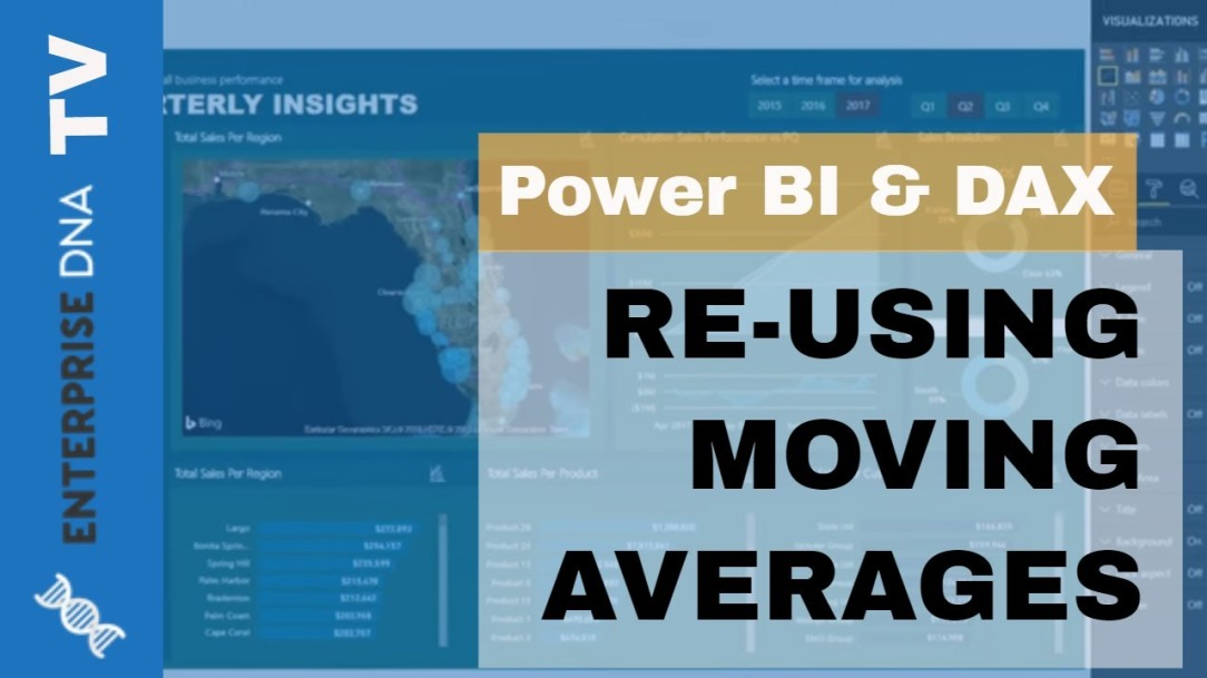 How You Can Re-Use Moving Averages In Power BI